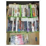 (54) X-Box 360 games.