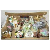 (9) Snow globes, musical elephant and other