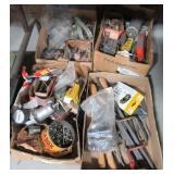 Various files, hardware, gauge, springs,