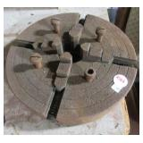 """Four jaw 8"""" machinist clamp."""