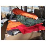 Hunting clothes including rain gear blaze orange