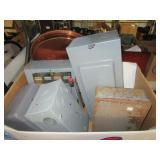 (5) Circuit breaker boxes & time switch.