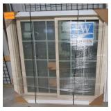 "Brand new Jeld-Wen sliding window. Measures 51.5"""