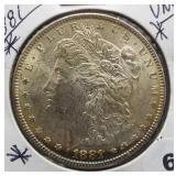 1881 Morgan Silver Dollar.