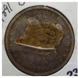1891-O Morgan Silver Dollar.