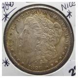 1898-O Morgan Silver Dollar.