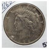 1926-S Peace Silver Dollar.