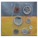 1964 Canadian Mint Set.