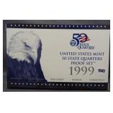 1999 50 State Quarters Proof Set.