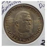 1946 Booker T. Washington Silver Half Dollar.