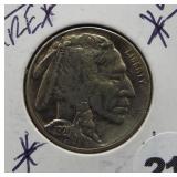 1920-S UNC Buffalo Nickel. Rare.