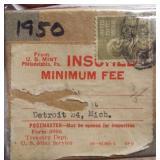1950 U.S. Mint Set in Original Box From U.S.
