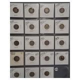 (4) Barber Silver Dimes. Dates: 1911, 1914-D,