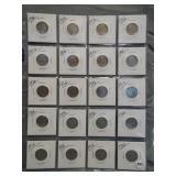 (20) 1936 Buffalo Nickels.