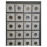 (20) Buffalo Nickels. Dates: 10-1936, 10-1937.