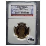 2007 Thomas Jefferson Third President  $1 NGC PF