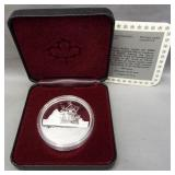 Canada Silver Dollar by The Royal Canadian Mint.