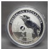 2016 1oz .999 Silver Australian Kookaburra.