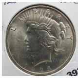 1923 Peace silver dollar. BU.