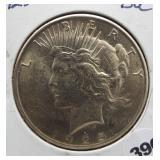 1925 Peace silver dollar. BU.