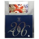 2006 Great Britain custom proof set.