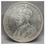 1936 Canadian silver dollar. High grade.
