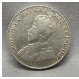 1926 Near 6 Canadian nickel.