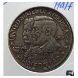 1937 Antietam Commemorative half dollar.
