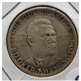 1946 Booker T Washington silver half dollar.