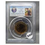 2007 George Washington $1. PCGS MS65 Mint Error,