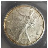 2006 Silver Eagle.