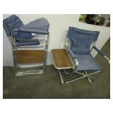 (2) Folding camping chairs with carry bag.