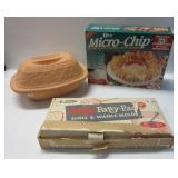 Romertopf clay baking dish with lid, Party-Patty