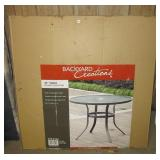 """Backyard Creations 40"""" Solano Collection table in"""