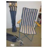 (2) MAC folding chairs in bags.