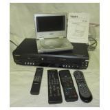 Symphonic Video Cassette Recorder/DVD player