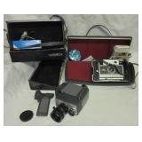(2) Vintage cameras including Yashica U-Matic CDS