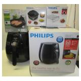 Philips air fryer and (3) Accessories including