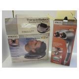 (2) Homedics massager items including Percussion
