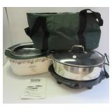 Rival Crock Pot, Westbend Versatility cooker and
