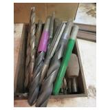 Group of machinist drill bits including ATM, GTD,