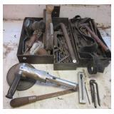 (3) Air tools including grinder, sander,