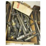 Large group of various Allen wrenches & welded