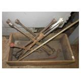 Johnson Suttons Bay wood crate with (4) tire