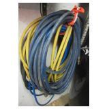 (4) Various size air hoses.