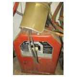 Lincoln AC-225-S electric welder with mask.