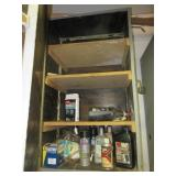 Contents of Cupboard including various used & new