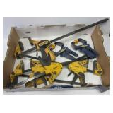 (7) Clamps including (4) Wolf Craft, (2) Irwin, &