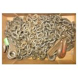 (2) Campbell chains with 3 hooks. Size 7/32