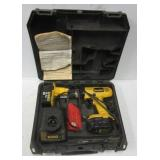 Dewalt 14.4 Volt battery drill with 2 batteries,